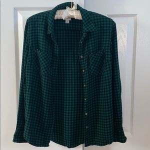 A New Day Flannel Top from Target